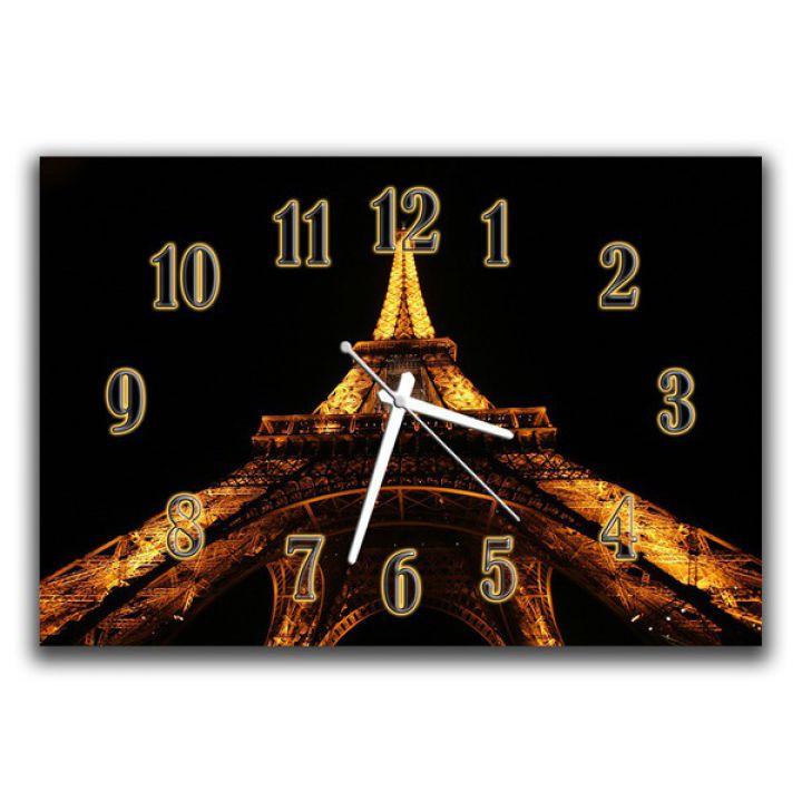 Настенные часы Эйфелева башня, 30х45 см