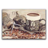 Настенные часы Кофе и зерна, 30х45 см