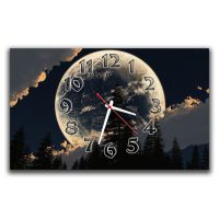 Настенные часы Полнолуние, 30х50 см