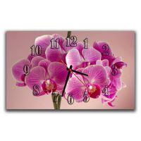 Настенные часы Нежные орхидеи, 30х50 см