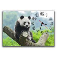 Настенные часы Панда, 30х45 см