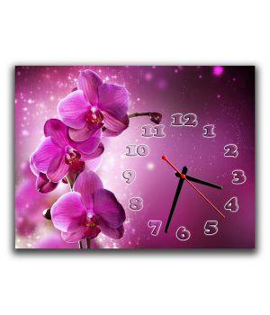 Настенные часы Фаленопсис, 30х40 см