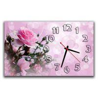 Настенные часы Нежная роза, 30х50 см