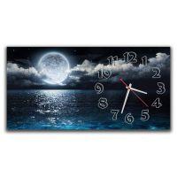 Настінний годинник Повний місяць, 30х60 см