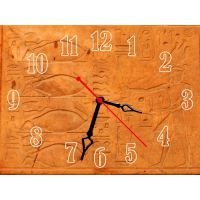 Настінний годинник Символи 69050, 30х40 см