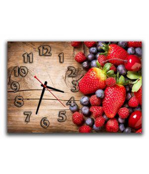 Настенные часы Фрукты 68970, 30х45 см