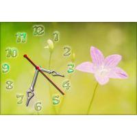 Настінний годинник Квітка 68981, 30х45 см