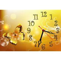 Настінний годинник Метелик 69001, 30х45 см