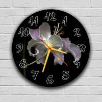 Круглий настінний годинник Лілія 69081, 30х30 см