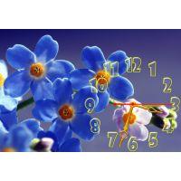 Настенные часы Цветы 68992, 30х45 см