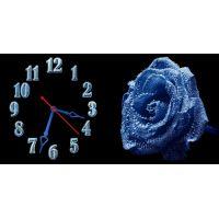 Настінний годинник Квітка 69022, 30х60 см