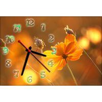 Настенные часы Цветок 68983, 30х45 см