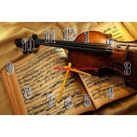 Настінний годинник Скрипка 68994, 30х45 см