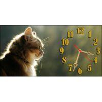 Настенные часы Котенок 69024, 30х60 см