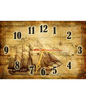 Настенные часы Карта 68995, 30х45 см