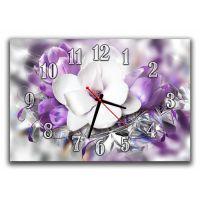 Настенные часы Цветы 68965, 30х45 см