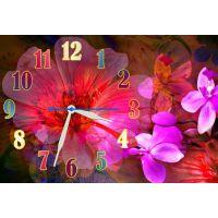 Настінний годинник Квітка 68986, 30х45 см