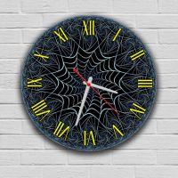 Круглий настінний годинник Павутина 69086, 30х30 см