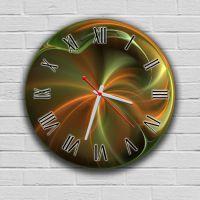 Круглые настенные часы Абстракция 2, 30х30 см