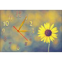Настенные часы Цветок 68988, 30х45 см