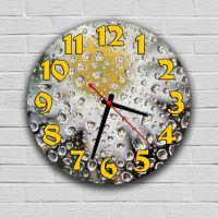 Круглий настінний годинник Роса 69089, 30х30 см