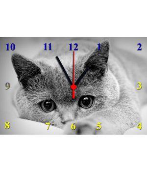 20х30 см, Скляний настінний годинник, 77833