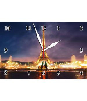 20х30 см, Скляний настінний годинник, 77853