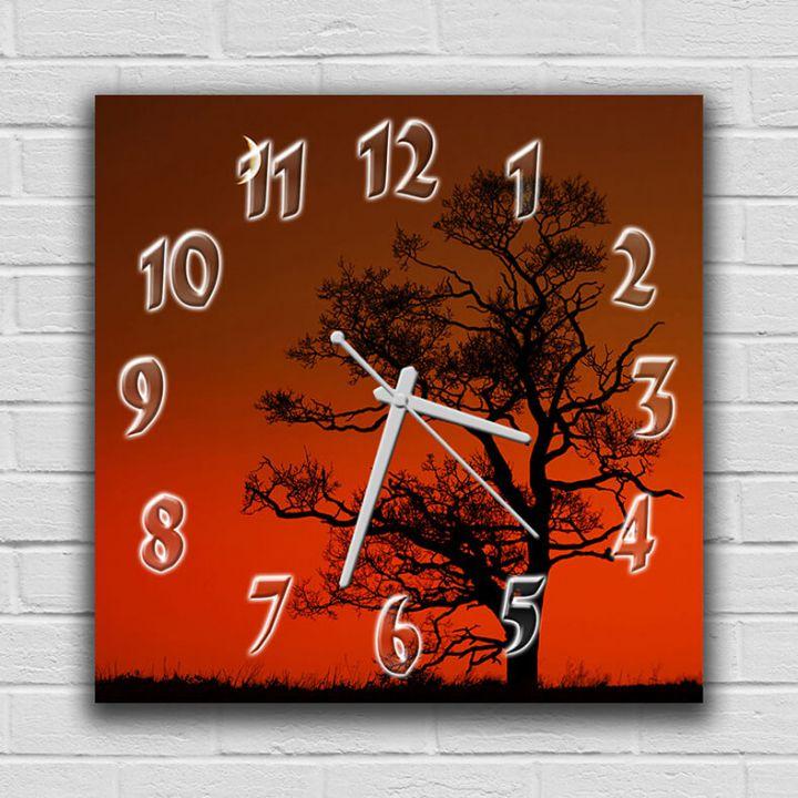 Настенные часы квадратные Упоительная Осень