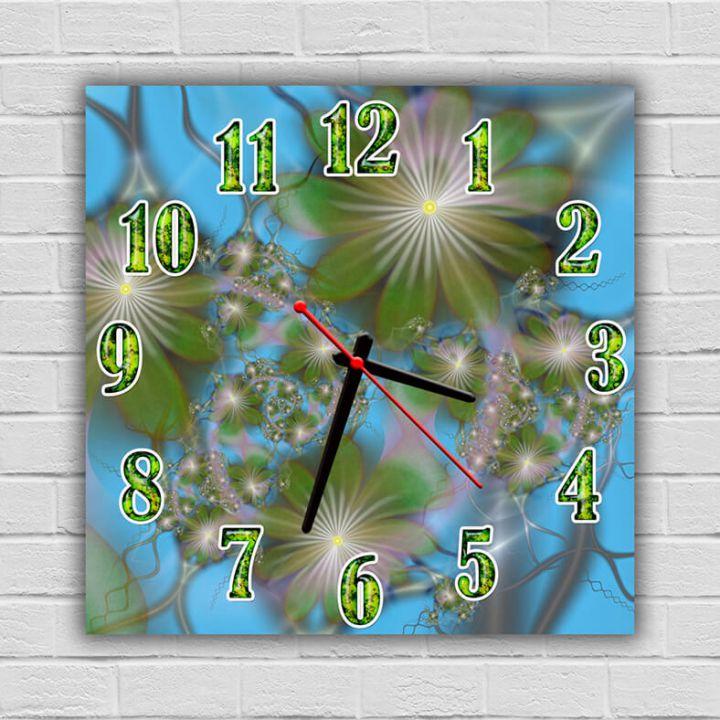 Часы квадратные настенные Лирика