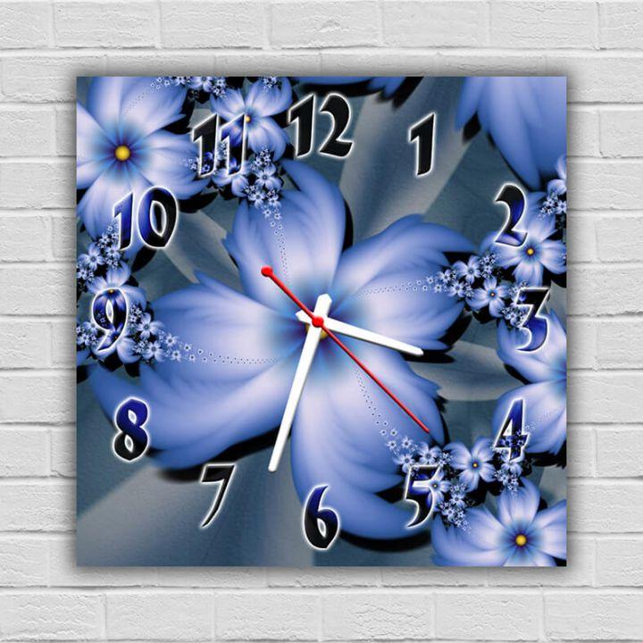 Настенные часы квадратные Элегия
