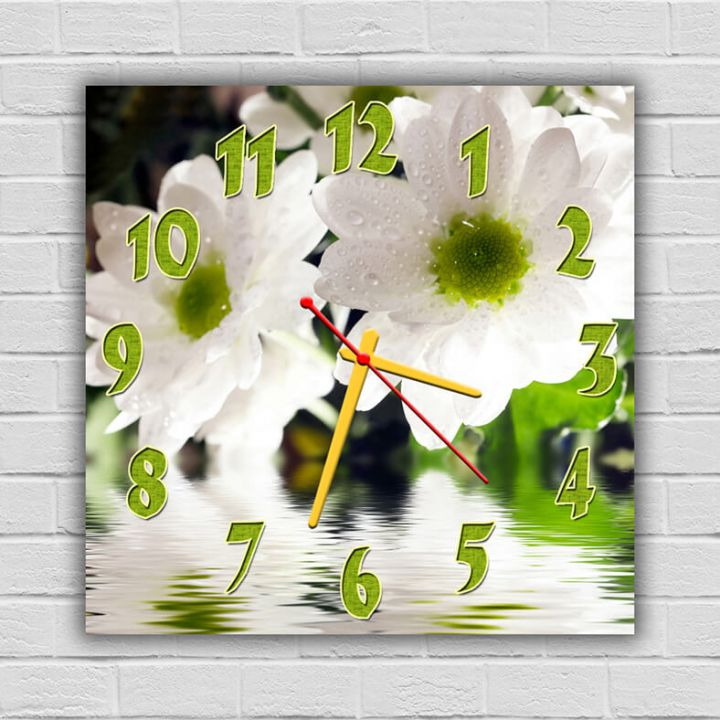 Часы квадратные настенные Очей Очарованье