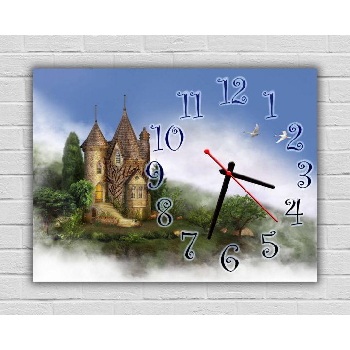 Настенные детские часы Чудесный Замок, 30х40 см