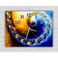 Настенные часы Абстракция 69052, 30х40 см