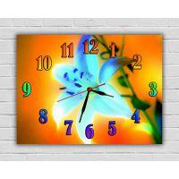 Дитячий настінний годинник Казкова Квітка, 30x40 см
