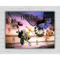 Настінний годинник Весняний настрій, 30х40 см