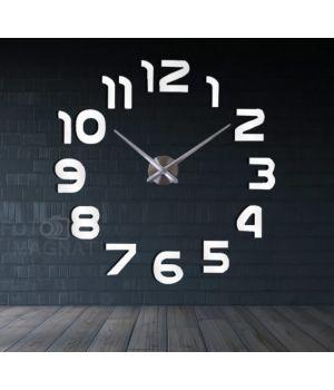 Діаметр 60-130 см, 3Д Годинник великий настінний, 78330