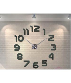 Діаметр 60-130 см, 3Д Годинник великий настінний, 78342