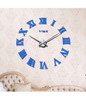 Діаметр 60-130 см, 3Д Годинник великий настінний, 78345