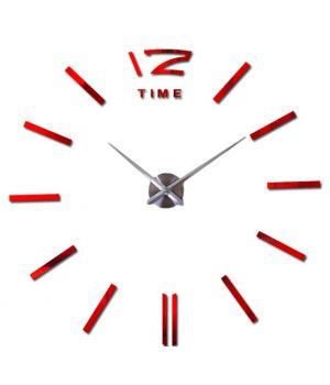 Діаметр 60-130 см, 3Д Годинник великий настінний, 78355