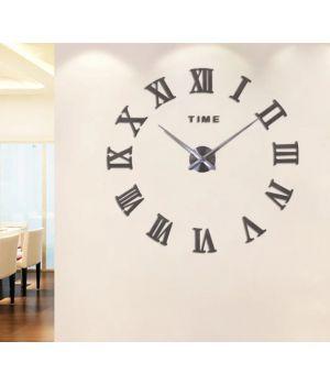 Діаметр 60-130 см, 3Д Годинник великий настінний, 78346