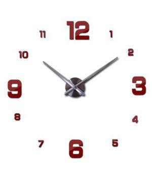 Діаметр 60-130 см, 3Д Годинник великий настінний, 78328