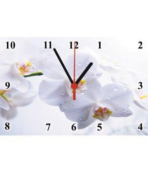 20х30 см, Стеклянные часы настенные, 77834