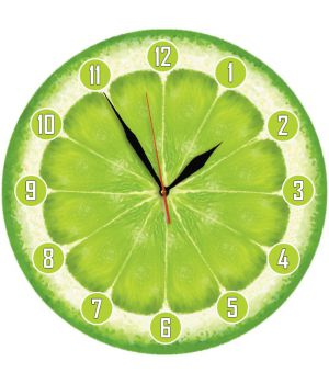 30х30 см, Скляний настінний годинник, 77984