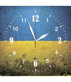 30х30 см, Стеклянные часы настенные, 77864