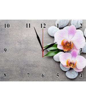 25х35 см, Стеклянные часы настенные, 77934