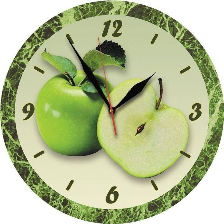 30х30 см, Стеклянные часы настенные, 77985