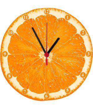 25х25 см, Скляний настінний годинник, 77975