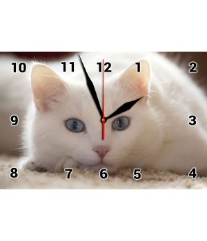 20х30 см, Скляний настінний годинник, 77835