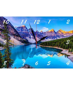 25х35 см, Стеклянные часы настенные, 77955