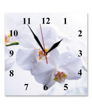 25х25 см, Стеклянные часы настенные, 77916